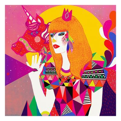 The Queen - Giclee Print