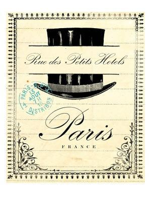 French Document 1 - Giclee Print