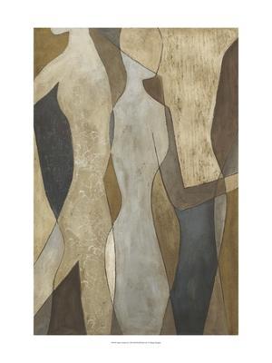 Figure Overlay II - Giclee Print