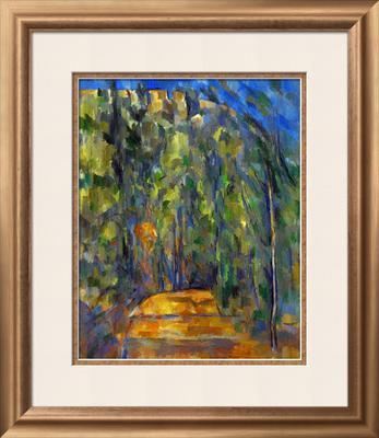 Bend in the Forest Road, 1902-1906 - Framed Giclee Print