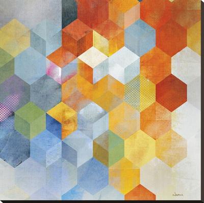 Cubitz I - Stretched Canvas Print