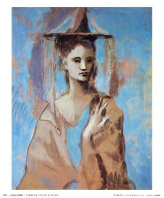 Woman of Majorca, 1905 - Art Print