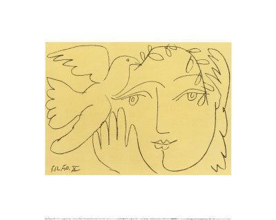 Visage de la Paix - Art Print