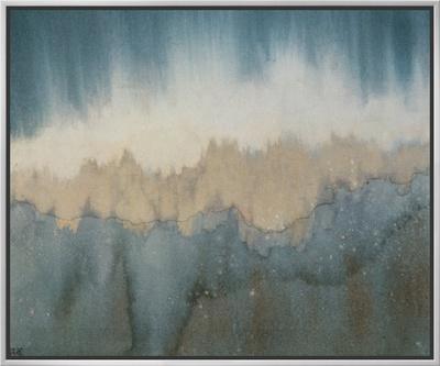 Rhythm of Light - Framed Canvas Print