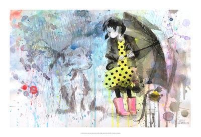 Rain Dog - Art Print