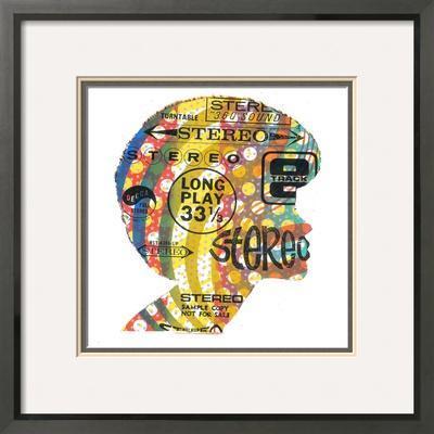 Famous Stereo - Framed Art Print