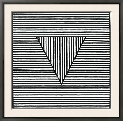 Triangle, c.1980 - Framed Art Print