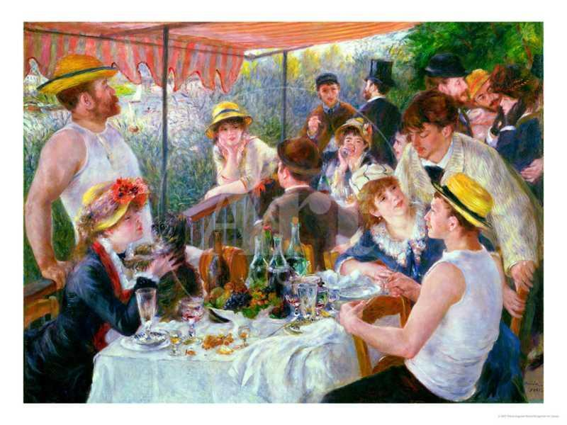 The Luncheon of the Boating Party, c.1881