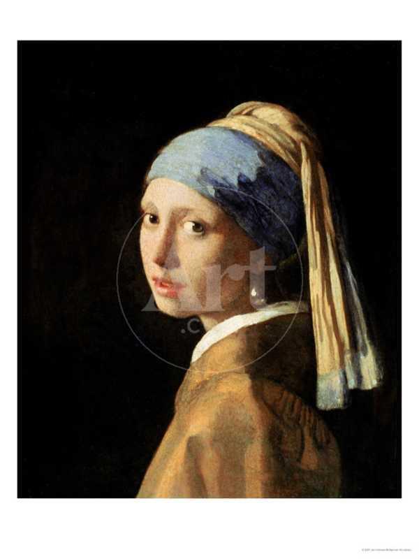 Girl with a Pearl Earring, circa 1665-6