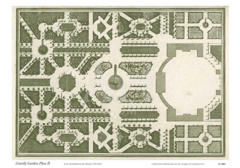 Courtly Garden Plan II