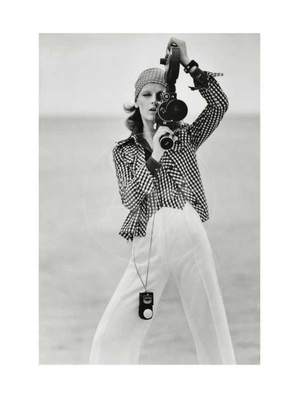 Vogue - April 1972 - Woman with a Film Camera
