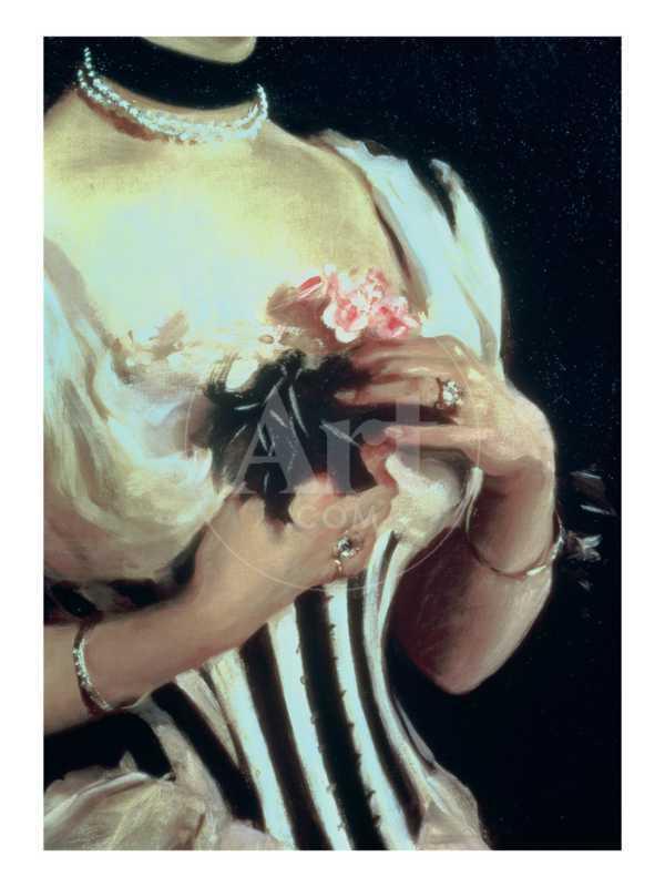 Mrs. Wilton Phipps, c.1884 (Detail)
