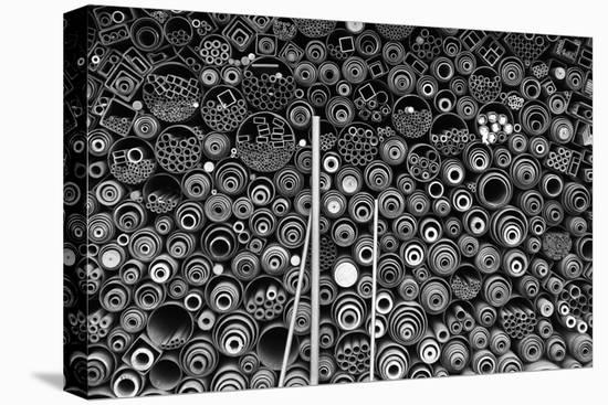 3 More Pipes-Donghee Han-Stretched Canvas Print
