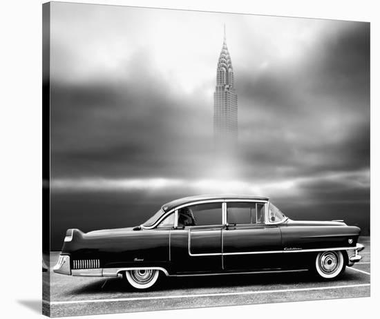 A Crack In The World-Larry Butterworth-Stretched Canvas Print