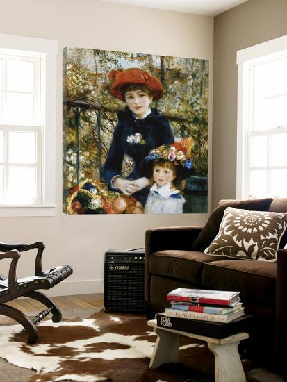 À la terrasse-Pierre-Auguste Renoir-Loft Art