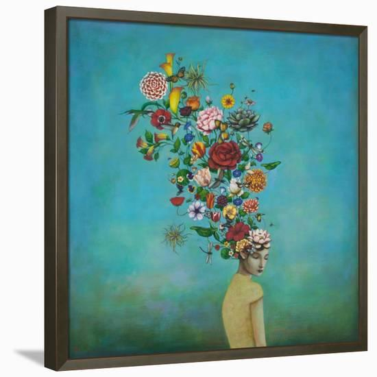 A Mindful Garden-Duy Huynh-Framed Canvas Print