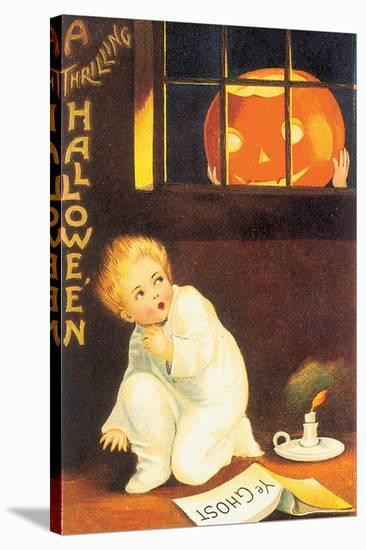 A Thrilling Halloween--Stretched Canvas Print