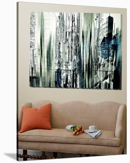 Abstract City Scene II-Jean-Fran?ois Dupuis-Loft Art
