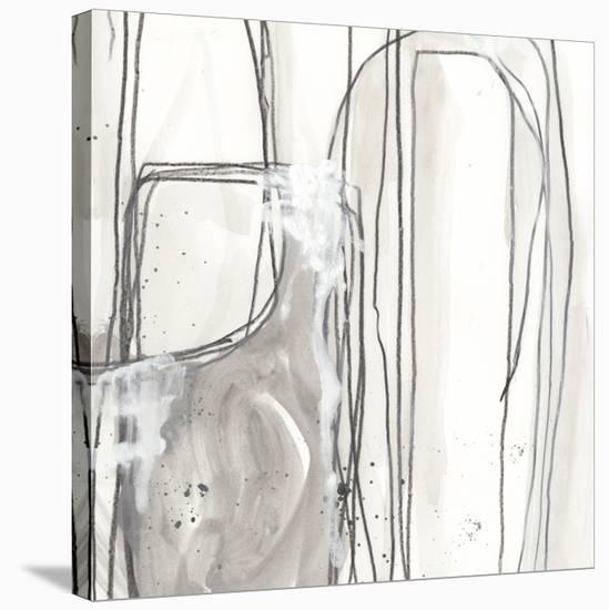 Abstract Logic I-June Vess-Stretched Canvas Print