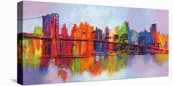 Abstract Manhattan-Brian Carter-Stretched Canvas Print