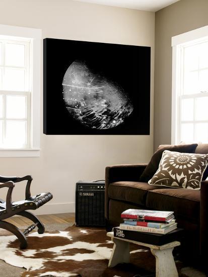 Abstract Moon Phase 2-THE Studio-Loft Art