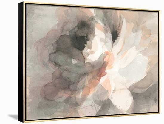 Abstract Peony--Framed Canvas Print