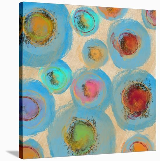 Abstract Spring Flower-Yashna-Stretched Canvas Print