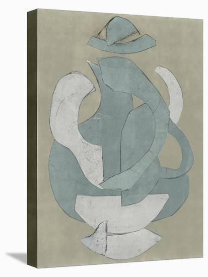 Abstract Vessel IV-Rob Delamater-Stretched Canvas Print