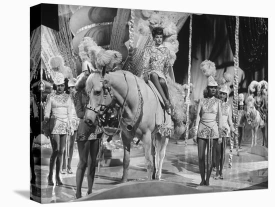"""Actress Lucille Ball Performing in a Scene from the Movie """"The Ziegfeld Follies""""--Stretched Canvas Print"""