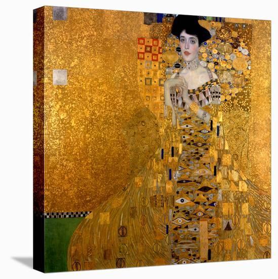 Adele Bloch-Bauer I, 1907-Gustav Klimt-Stretched Canvas Print