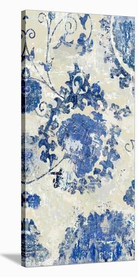 Adornment Panel Indigo I-Ellie Roberts-Stretched Canvas Print