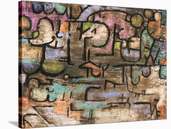 After the Flood-Paul Klee-Stretched Canvas Print