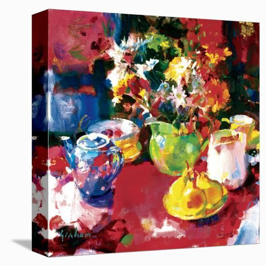 Afternoon Tea-Peter Graham-Stretched Canvas Print
