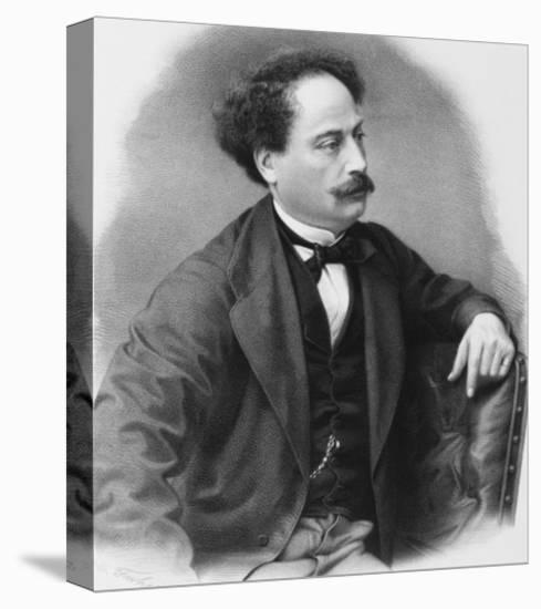 Alexandre Dumas Fils French Novelist-C. Fuhr-Premier Image Canvas