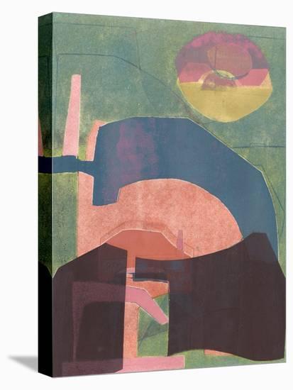 Alicante Moon-Rob Delamater-Stretched Canvas Print