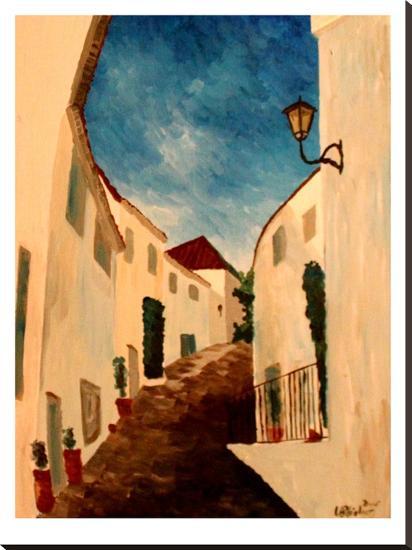 Alpujarra-M Bleichner-Stretched Canvas Print