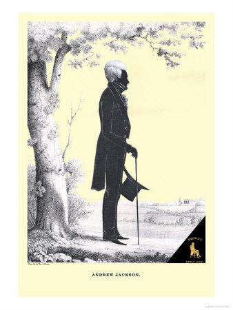 Andrew Jackson-William H^ Brown-Stretched Canvas Print