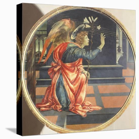 Annunciation, 1483-1484-Filippino Lippi-Stretched Canvas Print