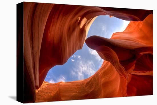 Antelope Slot Canyon Arizona--Stretched Canvas Print