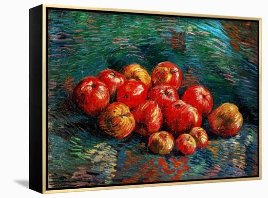 Apples-Vincent van Gogh-Framed Canvas Print