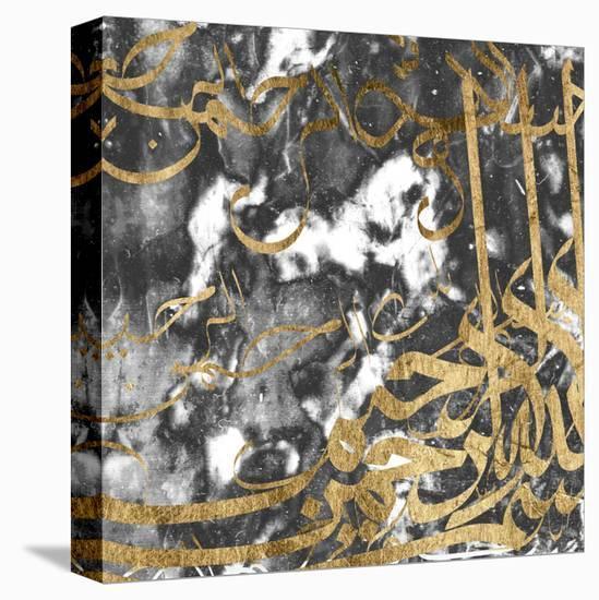Arabic Abstract V-Jennifer Goldberger-Stretched Canvas Print