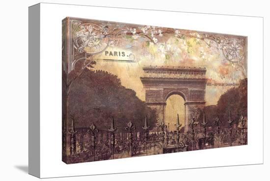 Arc de Triomphe-Tre Sorelle Studios-Gallery Wrapped Canvas