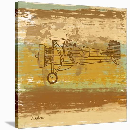 Around the World II-Yashna-Stretched Canvas Print
