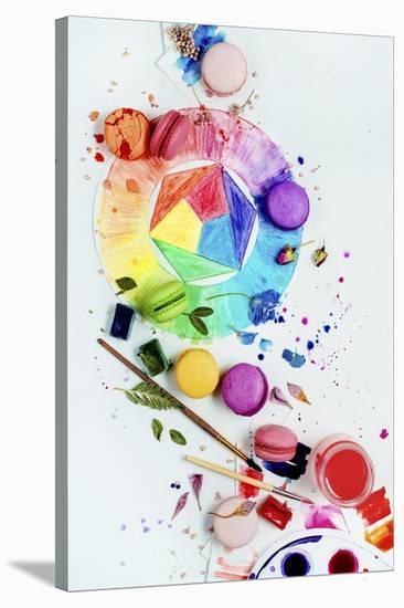 Art Of Patisserie-Dina Belenko-Stretched Canvas Print