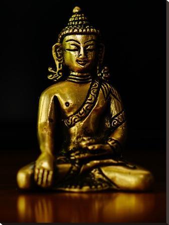 Asia Buddha Yoga Symbol-Wonderful Dream-Stretched Canvas Print