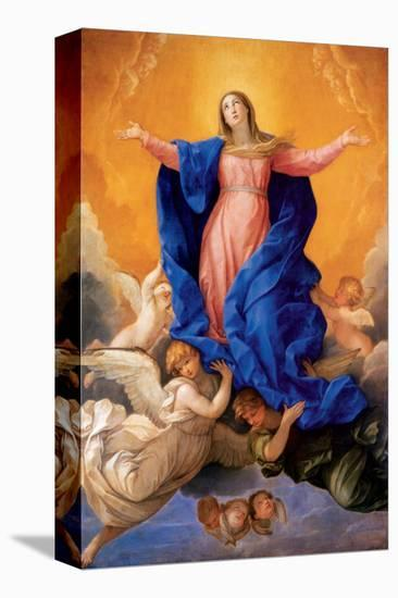 Assumption of Mary-Guido Reni-Stretched Canvas Print