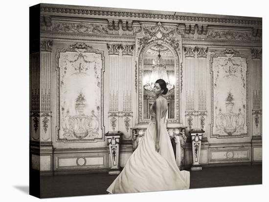 At the Palace-Haute Photo Collection-Stretched Canvas Print