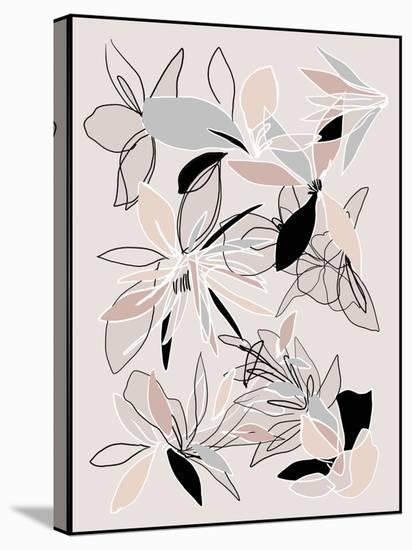 Autumn Scribbles-Hope Bainbridge-Stretched Canvas Print