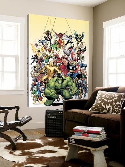 Avengers Classics No.1 Cover: Hulk-Arthur Adams-Loft Art