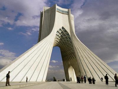Azadi Tower, Teheran, Iran, Middle East-Sergio Pitamitz-Stretched Canvas Print